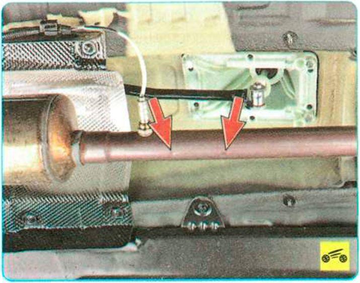 Замена глушителя на рено сандеро своими руками 128